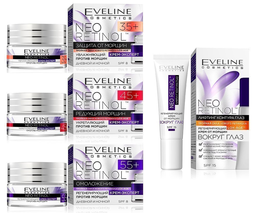 Линейка Neo Retinol от Eveline Cosmetics