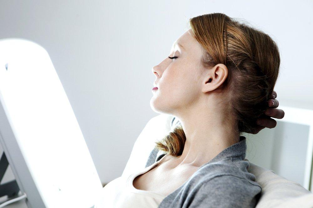 Фототерапия для нормализации обмена веществ