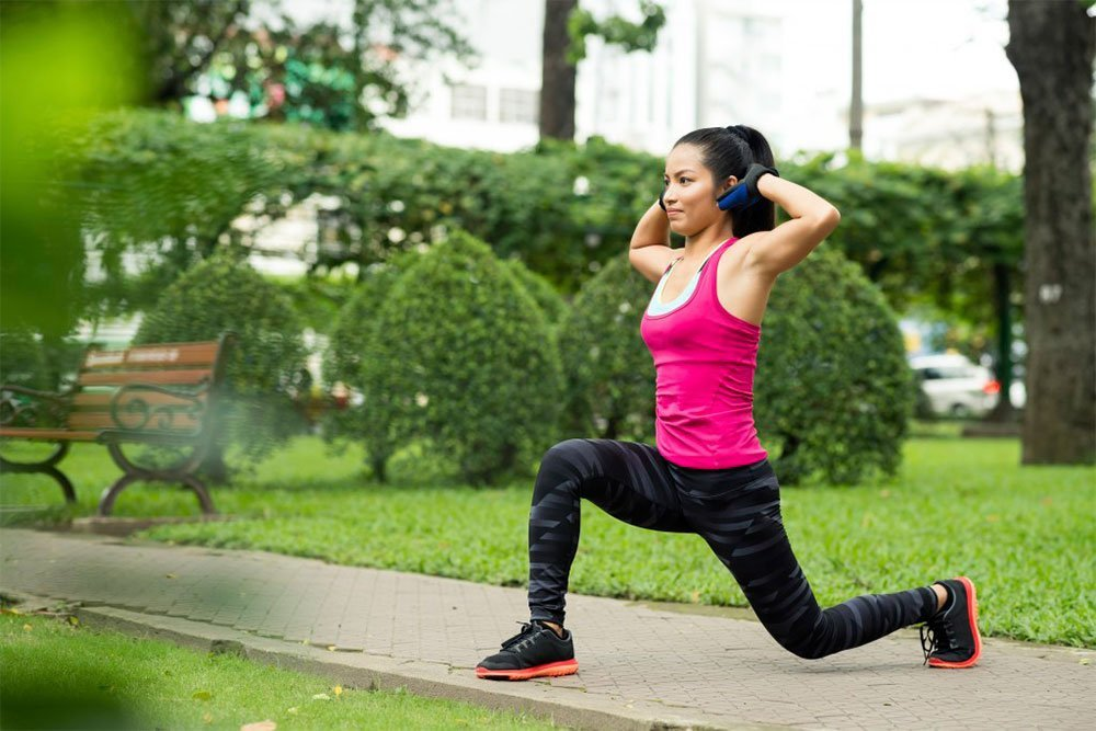 Преимущества занятий фитнесом для ног