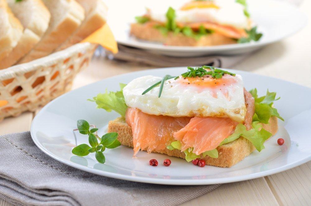 Полезные бутерброды из рыбы и морепродуктов