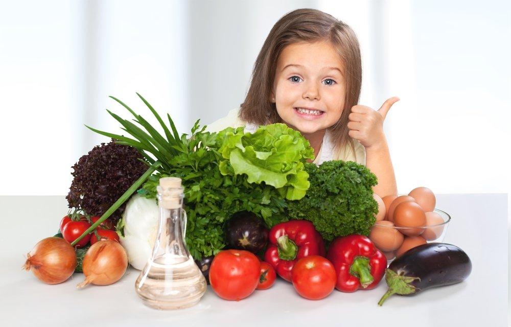 Правильное питание детей — из каких продуктов выбирать?