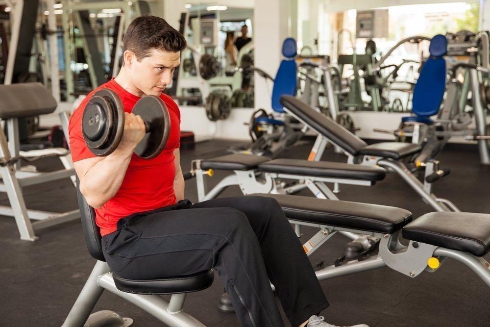 Силовой фитнес с гантелями