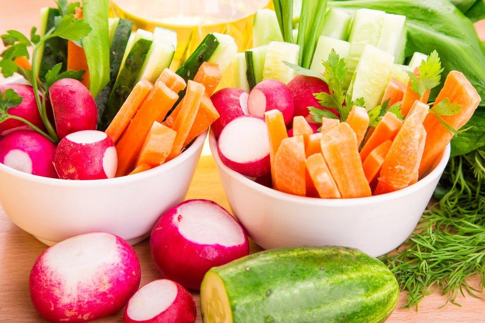 Овощи, ягоды и фрукты