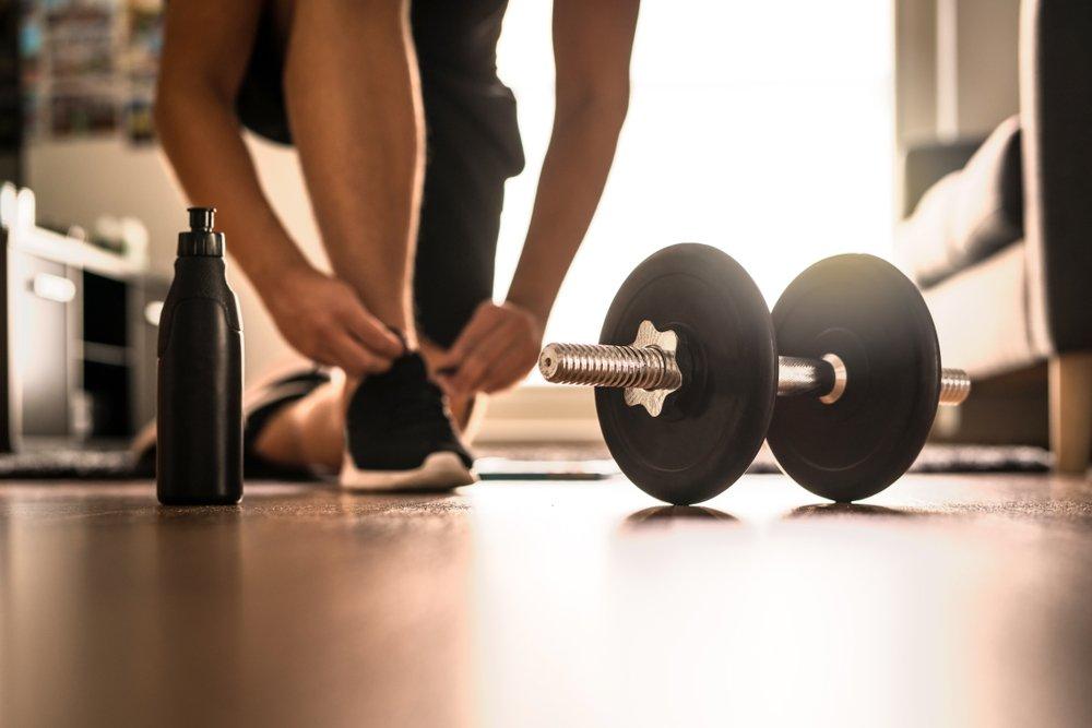 Пример универсального домашнего занятия фитнесом