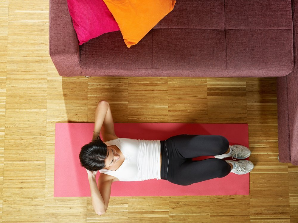 Правила занятий фитнесом в домашних условиях