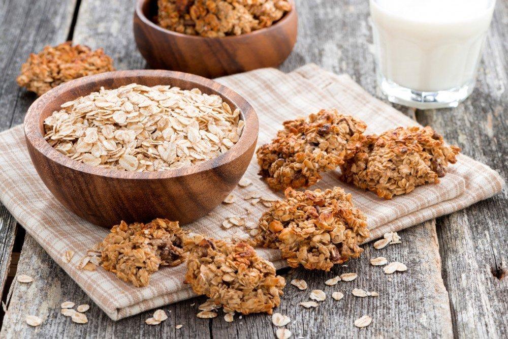 Рецепт печенья для овсяной диеты
