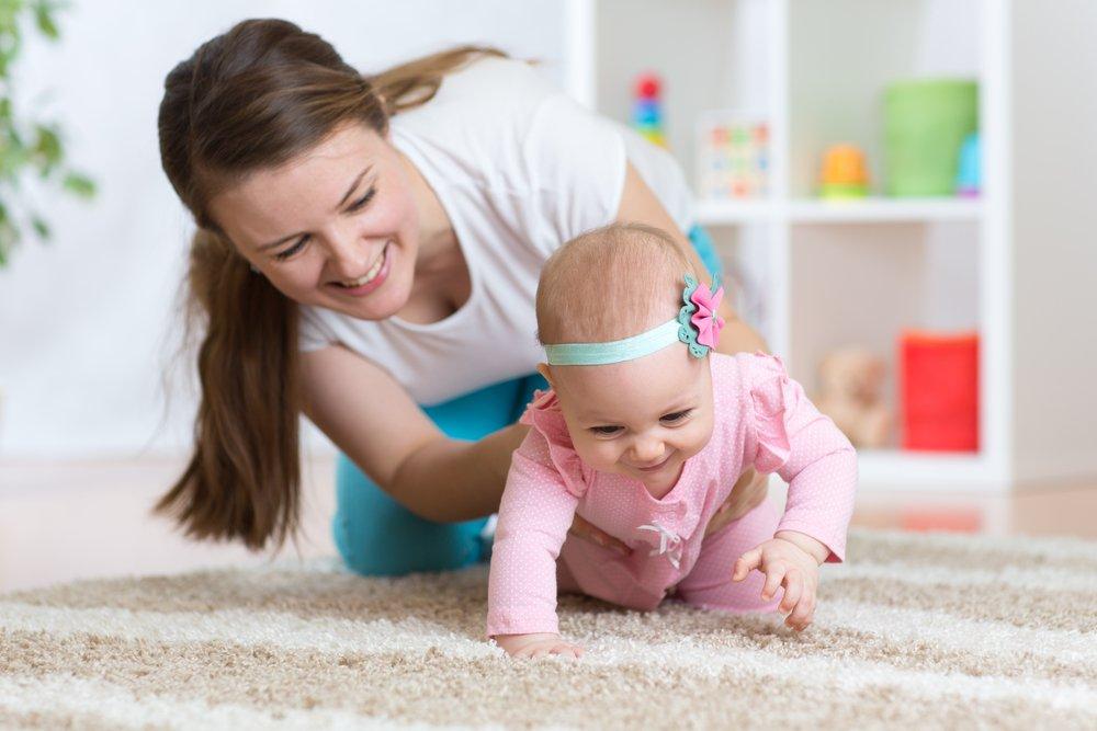 Проблема родителей: не может и не хочет ползать?