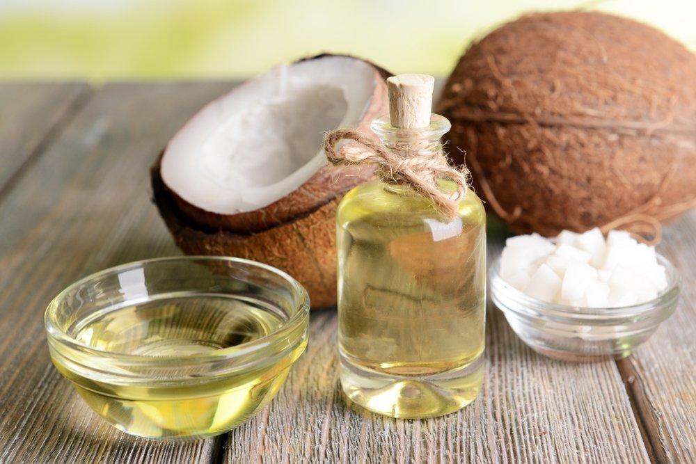 Кокосовое масло для увлажнения кожи