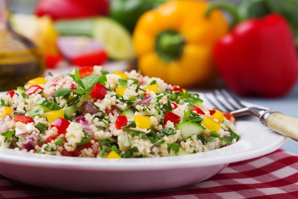 Израильский салат против кардиориска