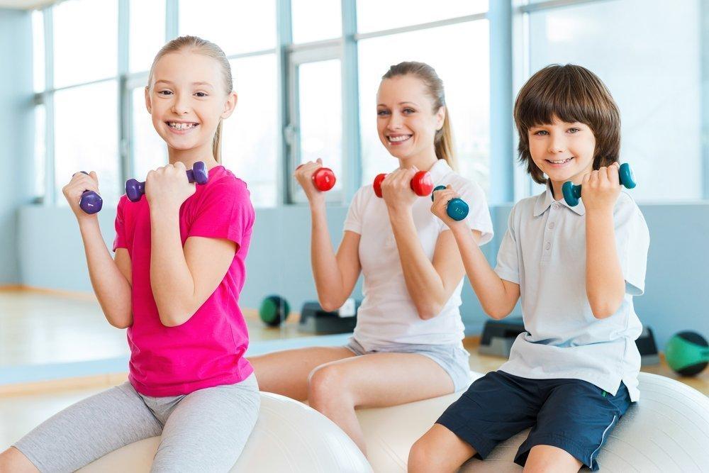 Занятия спортом в детском возрасте