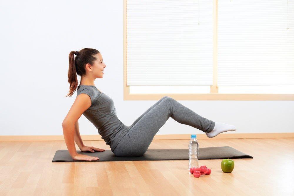Правила похудения в области коленей