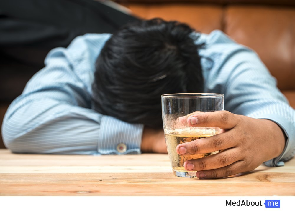 Диагностические признаки алкоголизма