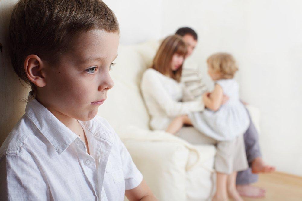 Знакомство малыша с мачехой