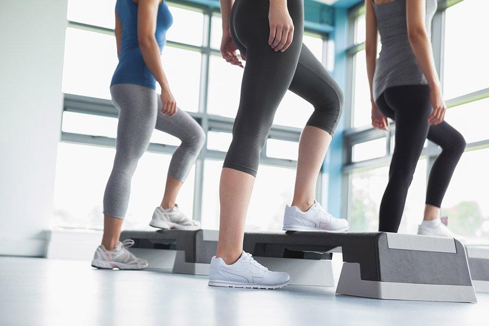 Комплекс упражнений с шагами