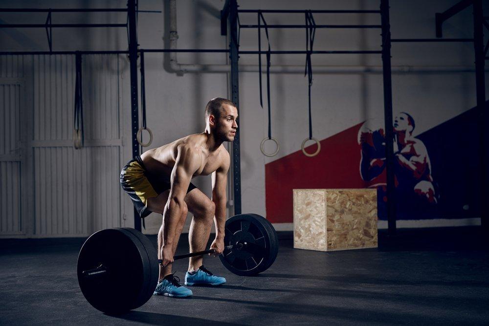 Исходная позиция при выполнении упражнения