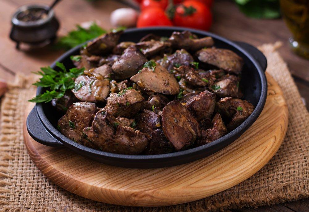 В чем польза говяжьей печени?