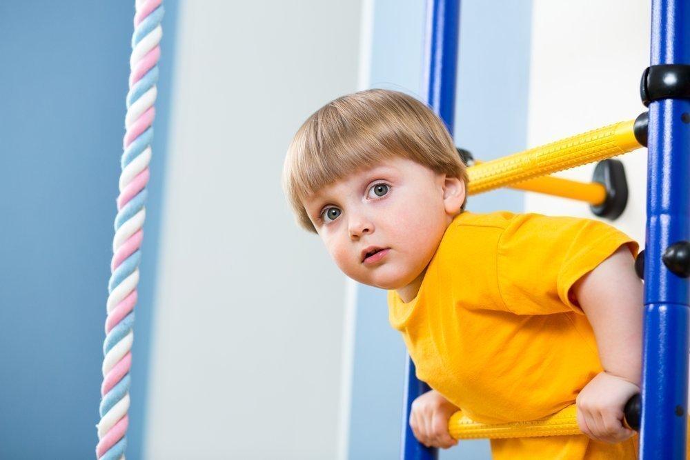 Преимущества обустройства спортивного уголка для ребенка