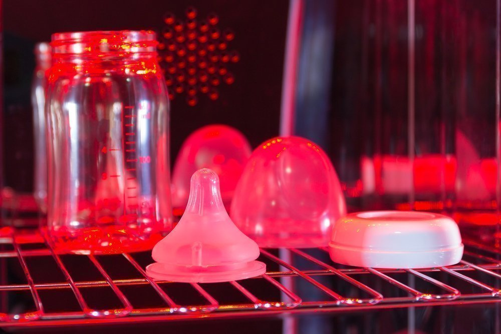 Обработка и стерилизация молокоотсосов