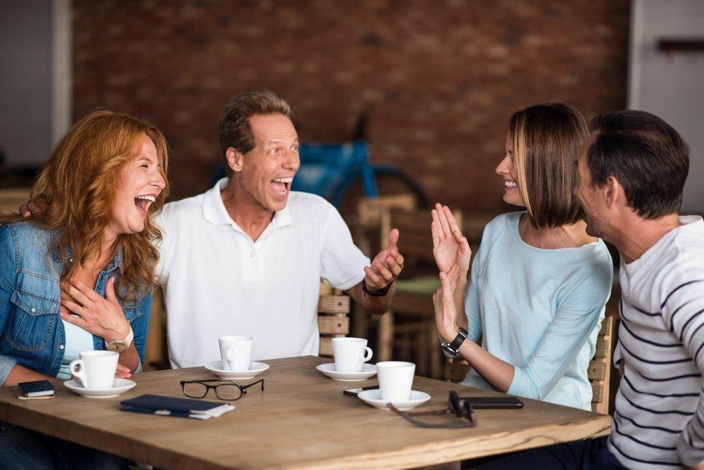 Смех против болезней сердца и депрессии