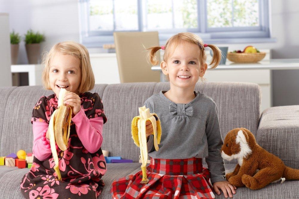 Дети любят бананы