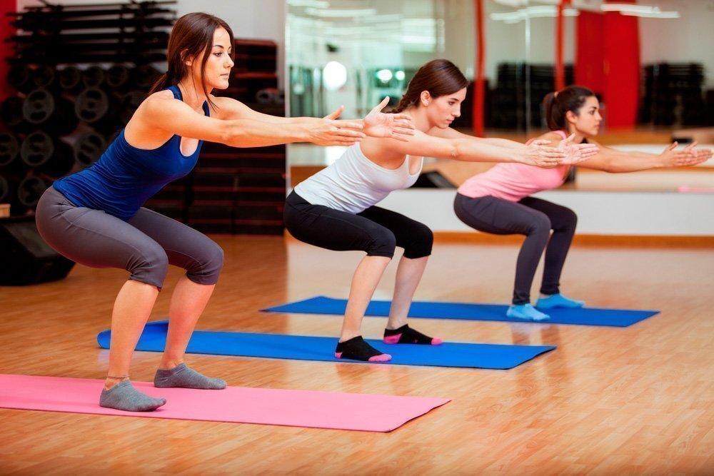 Фитнес-упражнения для коленей