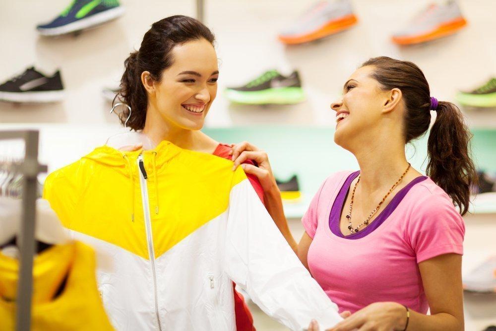 Приобретите специальную одежду для фитнеса