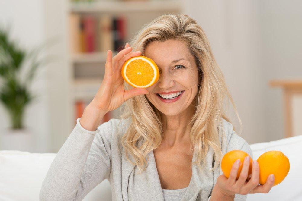 Продукты питания и витамины для кожи