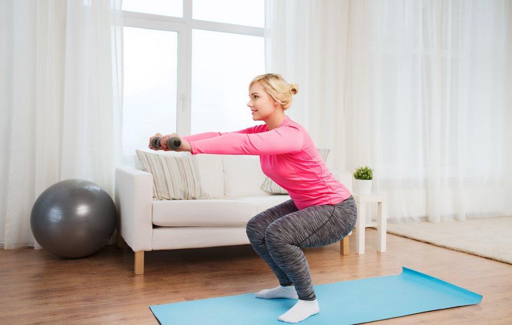 вас картинки упражнений для тренировок домашних была