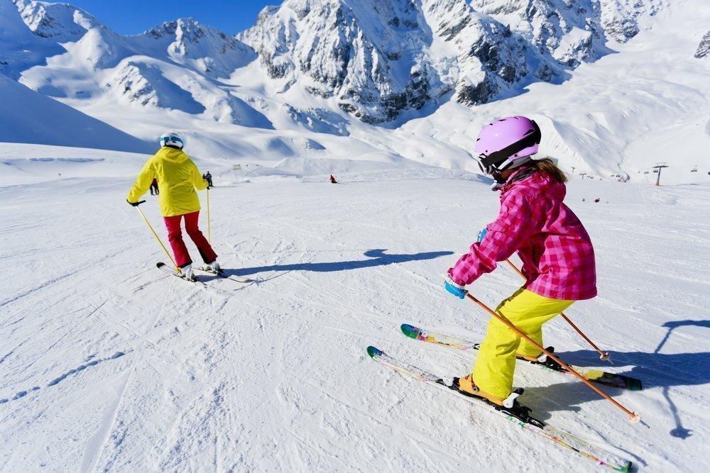 Лыжи для детей: беговые, горные и другие