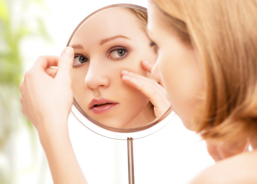 Проявления аллергии на лице