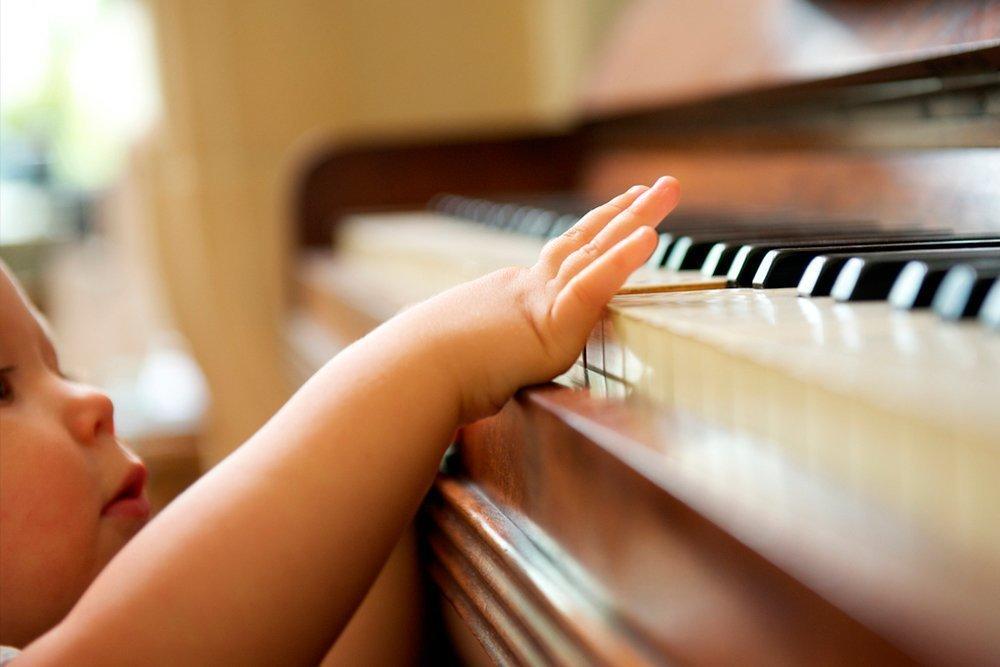 Музыка поможет развитию малышей?