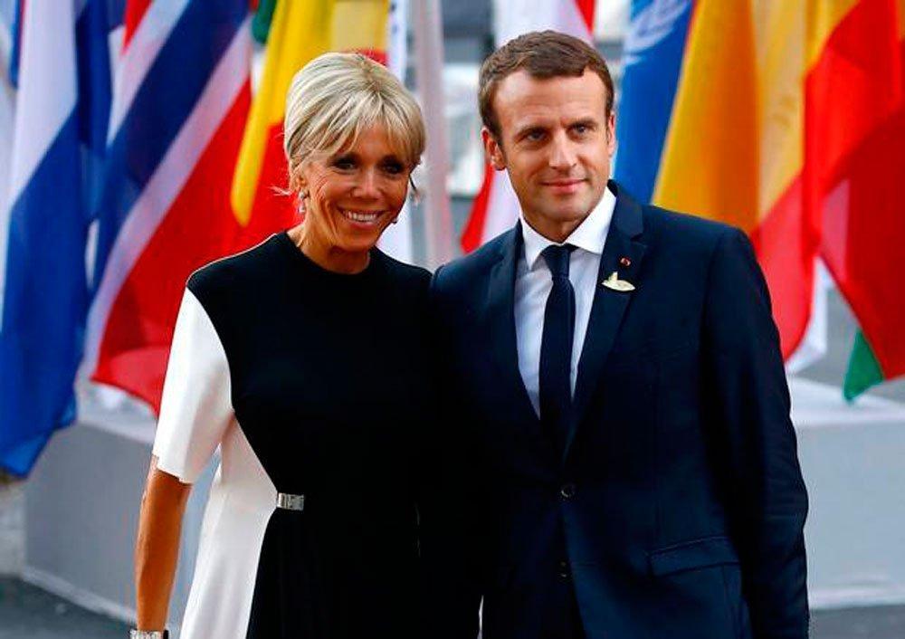 Брижит Макрон: новая икона стиля Франции Источник: independent.ie
