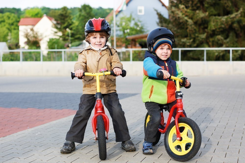 Первый велосипед ребенка