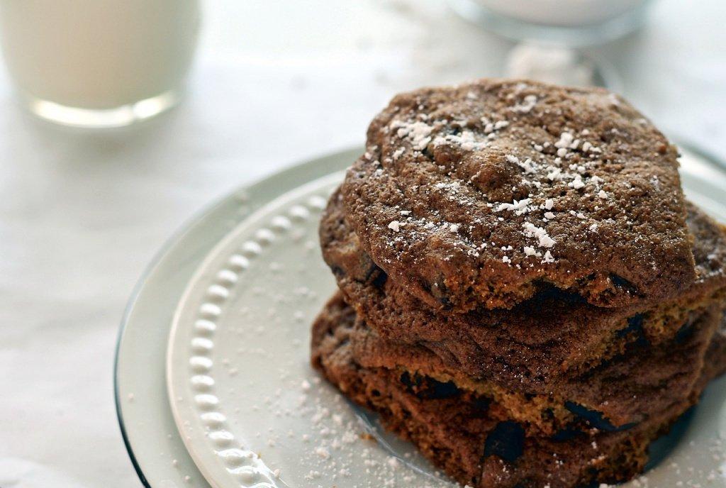 4. Шоколадное печенье