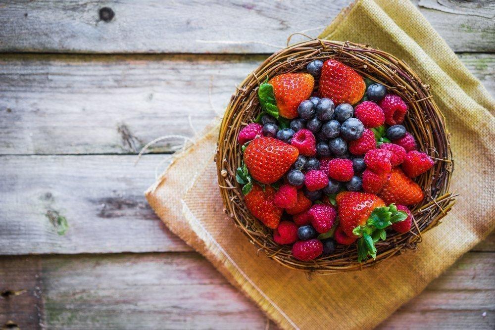 Свежие ягоды: концентрат витаминов и фруктовых кислот