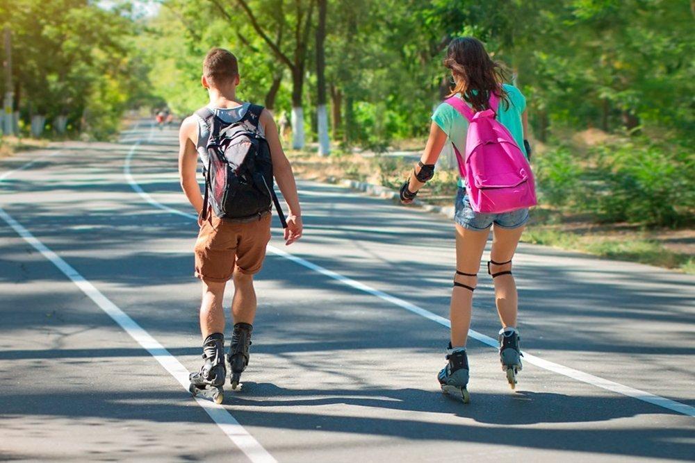 — Какие травмы чаще всего случаются при езде на роликах? Безопаснее ли они скейтборда?