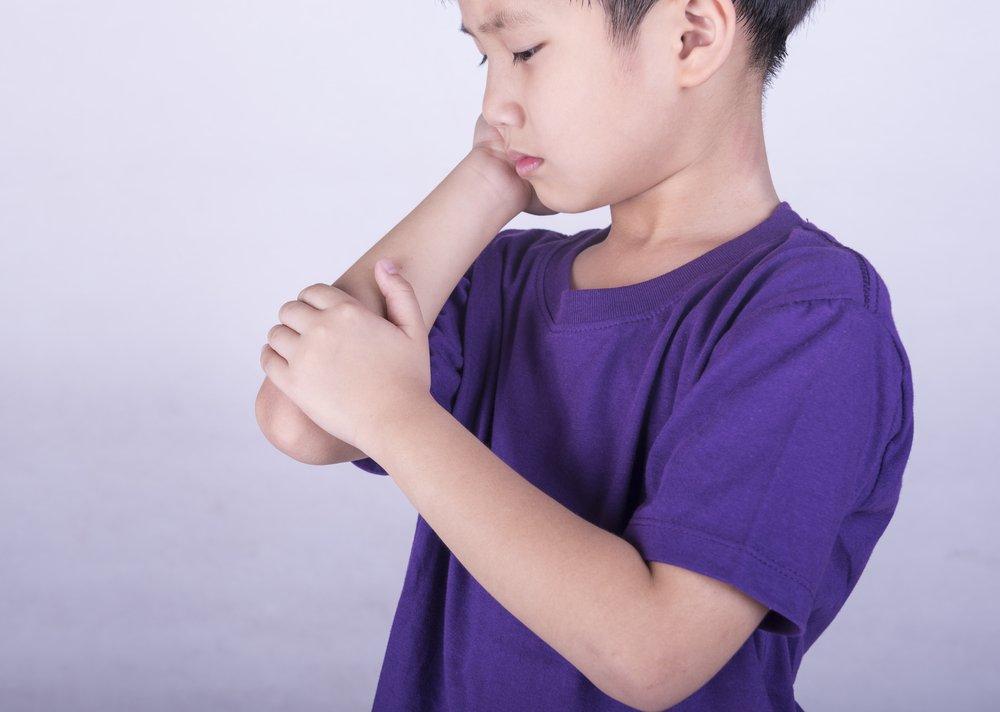 Детский артрит: симптомы