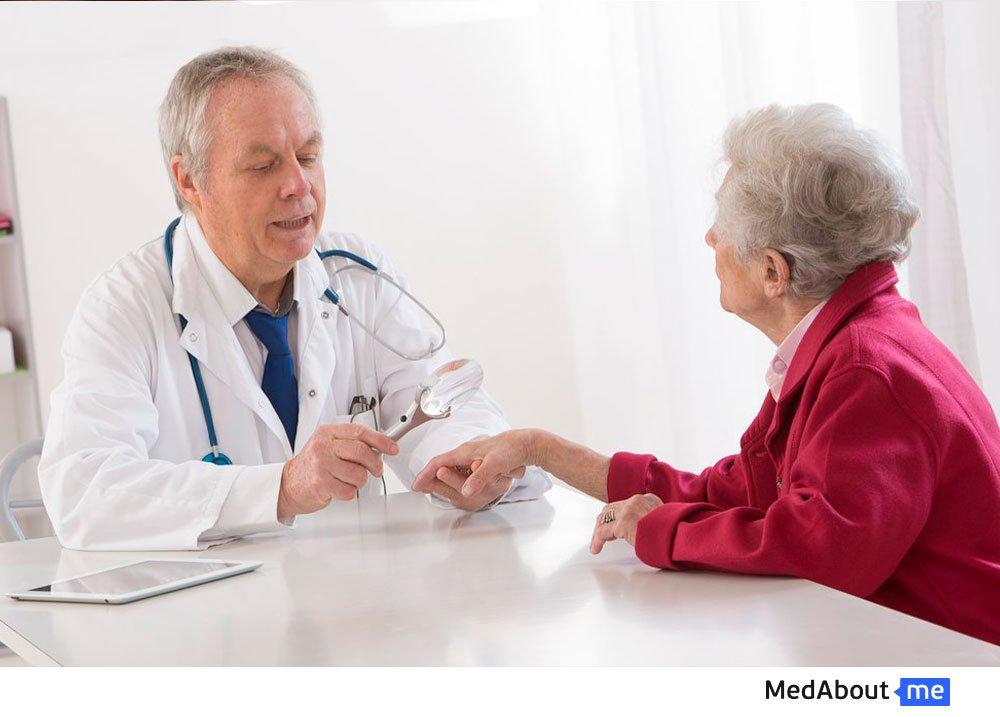 Диагностика экземы у взрослых