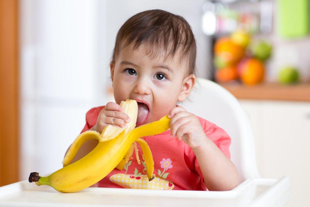 Экзотически-традиционные фрукты: банан