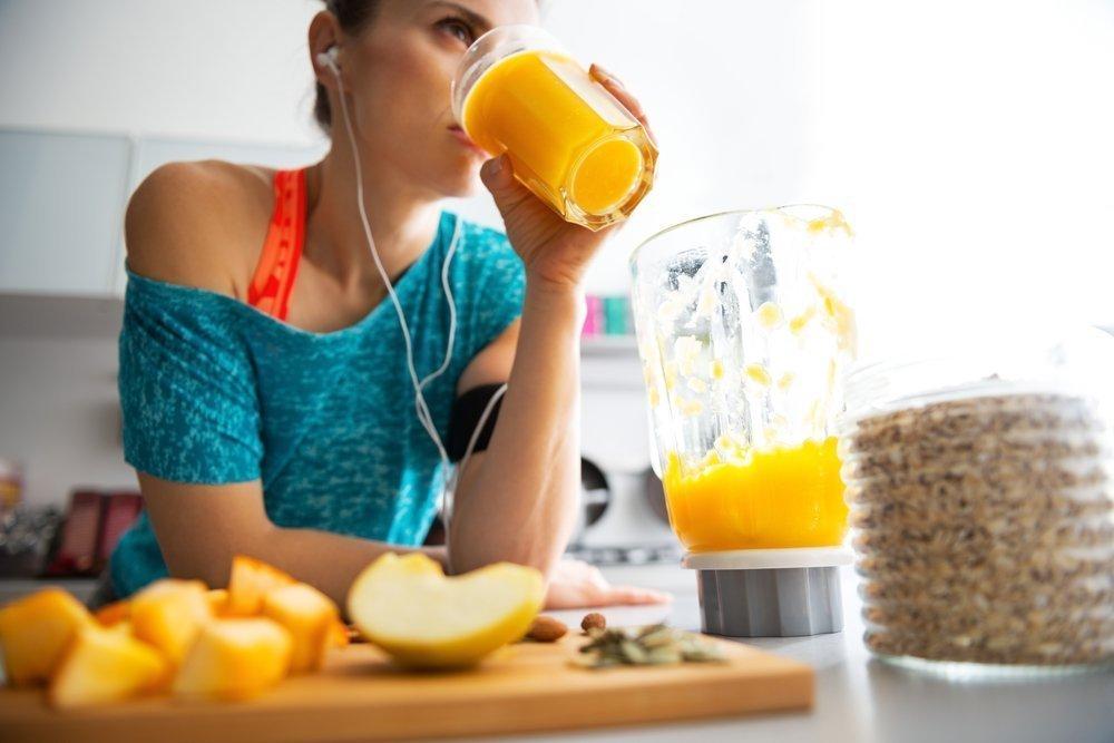 Прием пищи после физической нагрузки