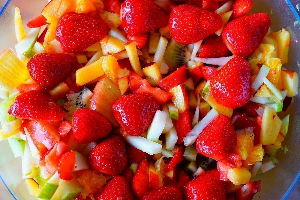Меню диеты на полезной ягоде