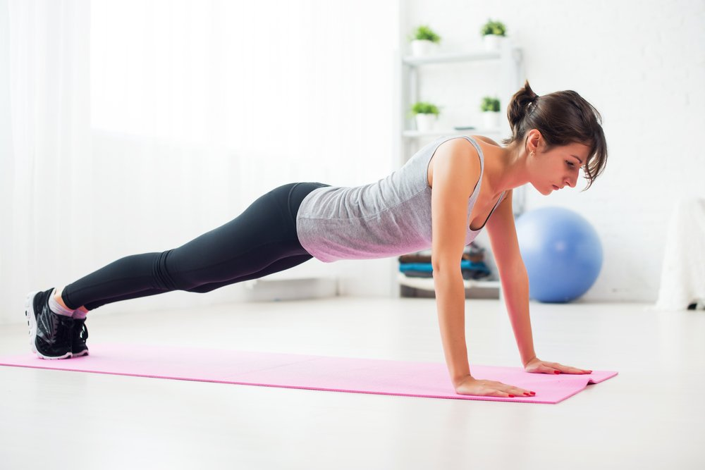 Польза занятий фитнесом, включающих отжимания