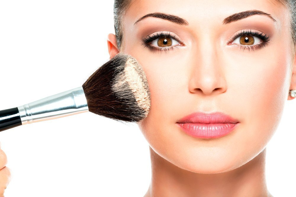 декоративная косметика для жирной кожи пудра