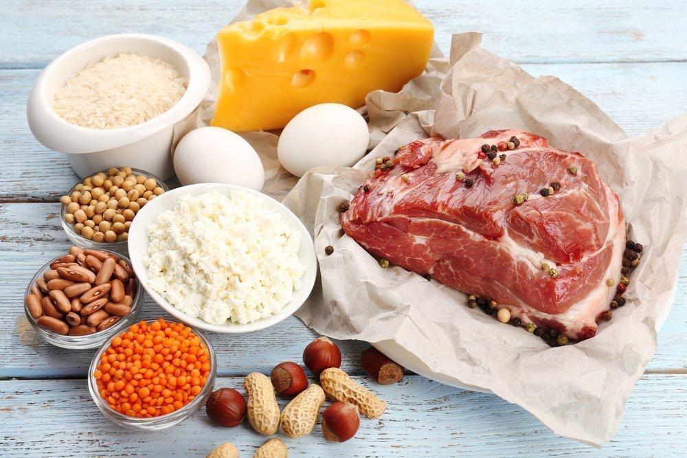 Больше белка в рационе питания