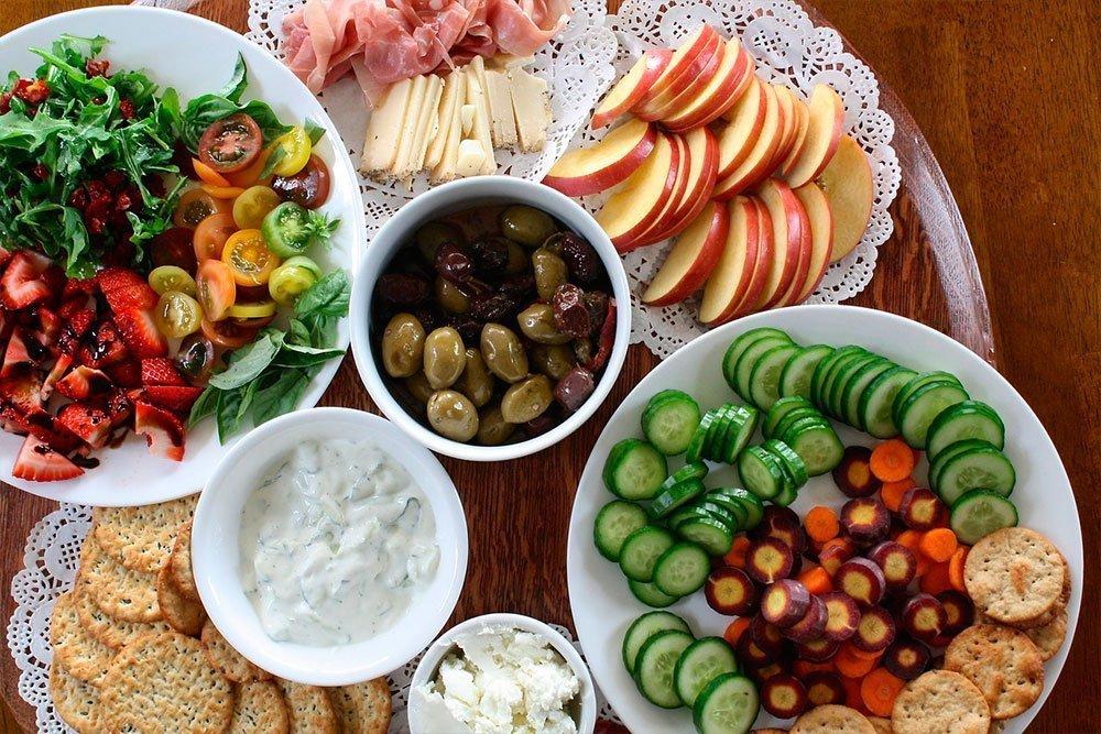 Правильная летняя диета