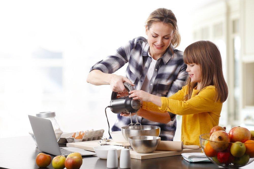 Питание по новому: правила привлечения детей к приготовлению пищи