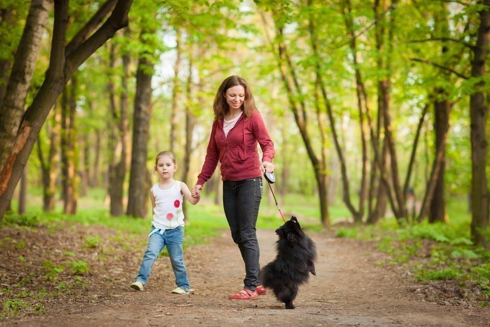 Прогулки с детьми в первые дни после вакцинации