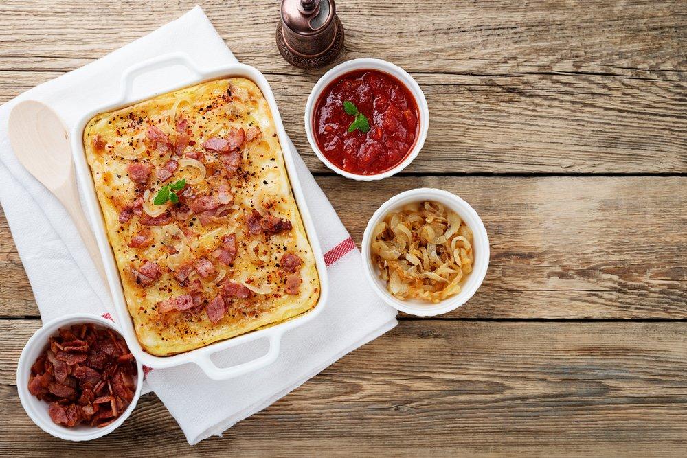 Суфле с луком и сыром рокфор: проверенный рецепт