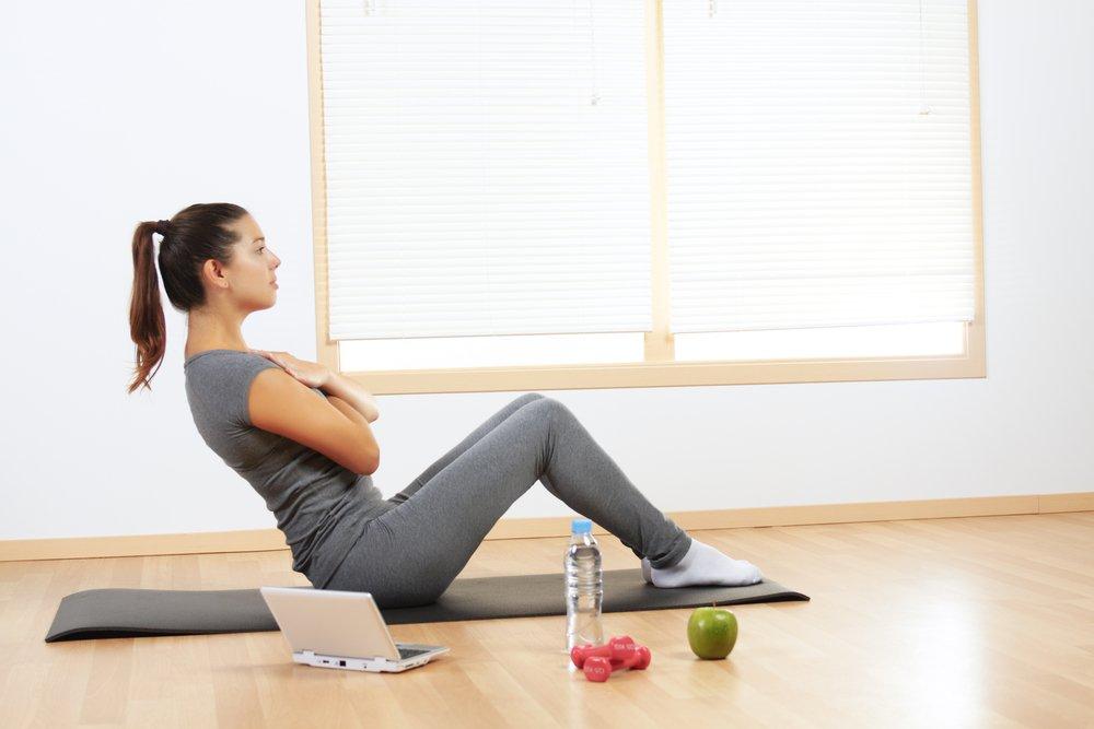 Похудение Онлайн Упражнения.