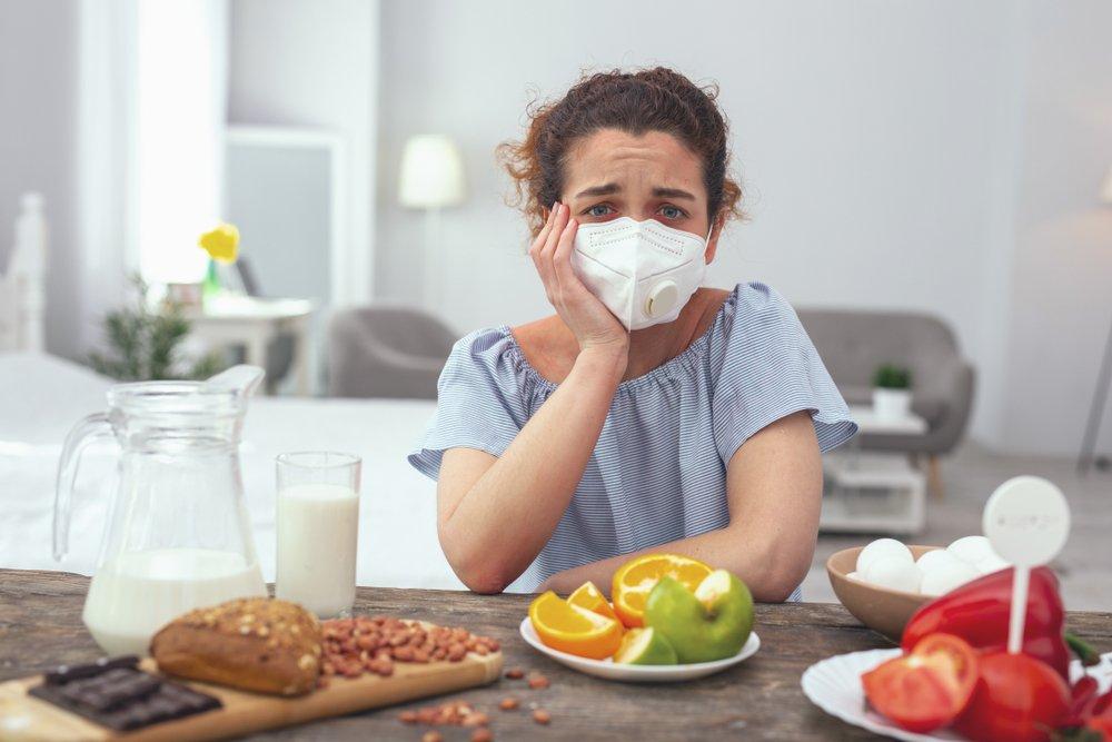 Пищевая аллергия: неприятные симптомы